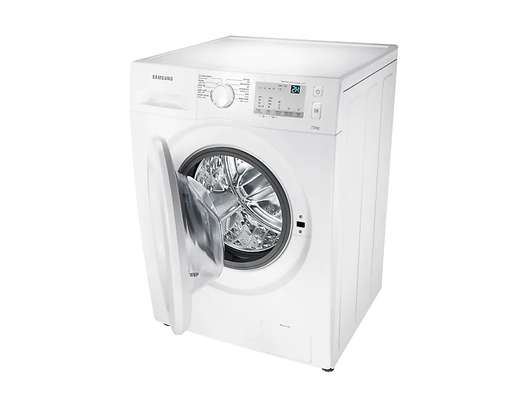 Samsung 8 Kg Front Loader Washing Machine – White (wash and spin)