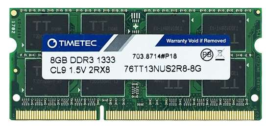 RAM - For Laptop 8GB