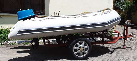 **EXCEL VANGUARD XHD335 INFLATABLE BOAT FOR SALE** image 2