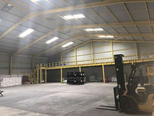 9acres Industrial Plot with a Brand new Warehouse in Mlandizi