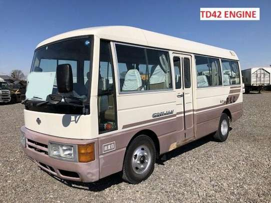 1995 Nissan CIVILIAN USD 10600 UP TO DAR PORT