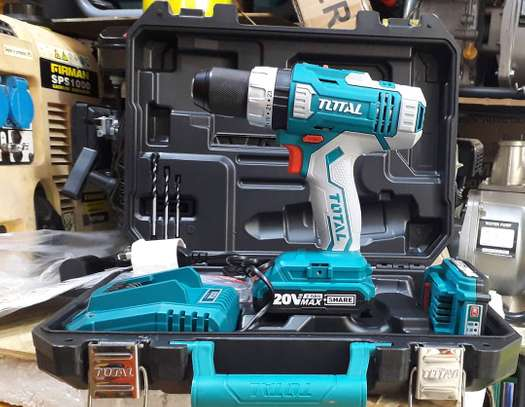 Total Lithium-Ion Impact Drill 20V