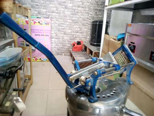 UPGRADED FRENCH FRIES CUTTER...300,000/= image 1