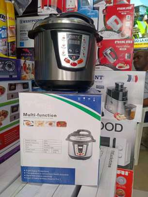 PESKOE Electric Automatic Pressure cooker 6L with Double Pots...190,000/= image 1