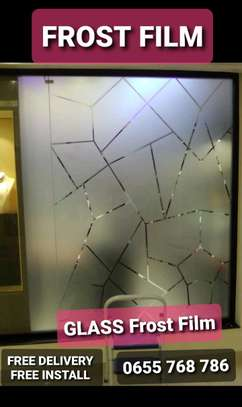 FROST FILM- Glass Film for Privacy Protection image 1