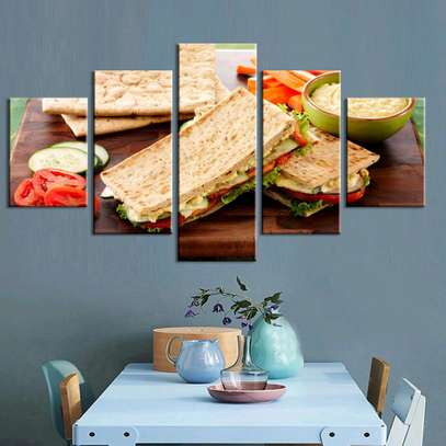 MODERN WALL CANVAS PAINTING image 7