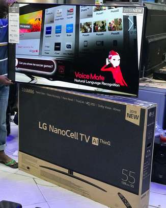 LG NANOCELL TV INCH 55 image 1
