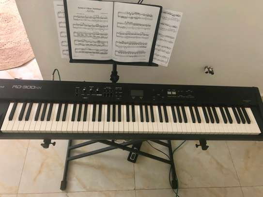 Roland RD300-NX Stage Piano, Laney LA20C Acoustic Amp