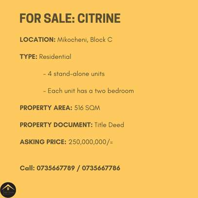 Residential Property For Sale Mikocheni image 2