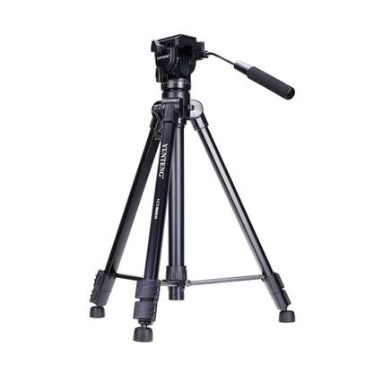 Yunteng VCT-880 Photography Tripod Monopod WIth Fluid Pan Head Quick Release Plate