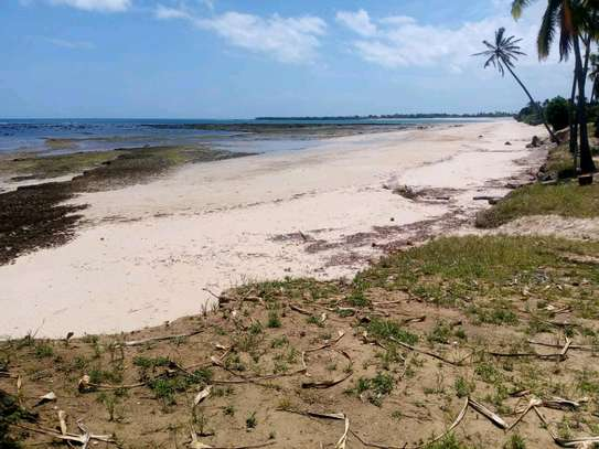 Beach plot for sale in kigamboni. image 2