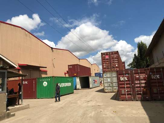11000sqm Industrial Plot with a Warehouse at Tabata