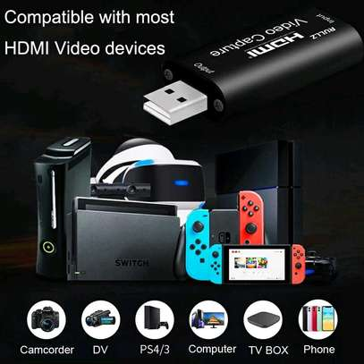 Live Streaming 4K Video Capture Card. USB 3.0/2.0 HDMI Video Grabber Record Box image 6