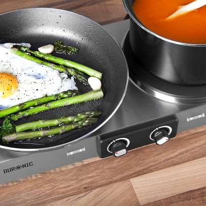 SPRING DEAL: Duronic Hot Plate HP2SS   Table-Top Cooking   2500W   Stainless-Steel Electric Single Hob with Handles image 7