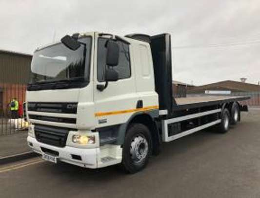 2008 DAF C75 6X2 FLATBED TSHS 70MILLION ON THE ROAD