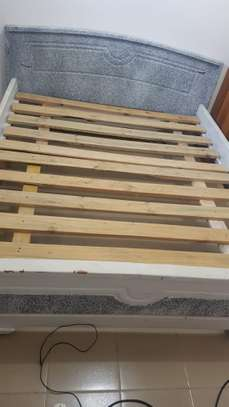Bed (Kitanda cha Mbao) Size 5*6 ft