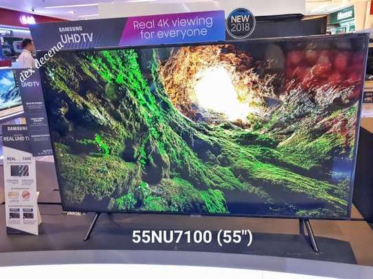 SAMSUNG 55 UHD 4K SMART FLAT SERIES7 2018 MODEL
