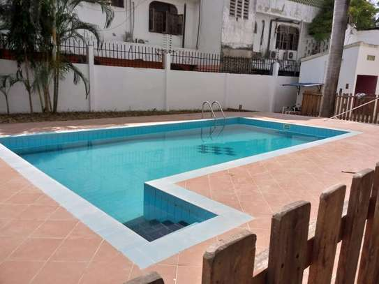 4bed house  at msasani  nice swimming pool image 1