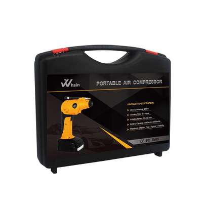 Portable Air Compressor for tyres inflation image 2
