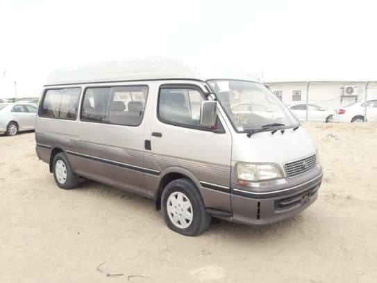 1996 Toyota HIACE DIESEL AUTO USD 6500 UP TO DAR PORT TSHS 24MILLION ON THE ROAD image 1