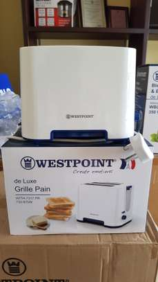 Westpoint Deluxe Toaster 2Slice White (1*6)