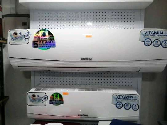 BRAND NEW BRUHM AIR CONDITIONER 850,000 free delivery image 1