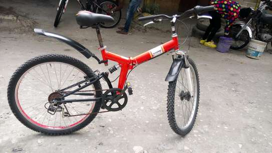 Full-suspension mountain bike