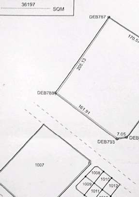 9 Acres plot with mangrove forest beach for sale.Tsh 1.2b image 3