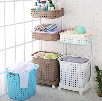 3 Tier Laundry Basket image 2