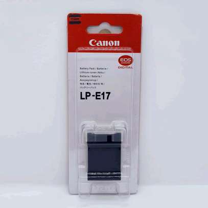 Canon LP-E17 Lithium-Ion Battery Pack (7.2V, 1040mAh) image 1