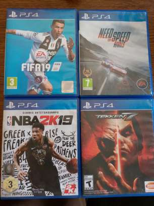 PS 4 CD's for sale