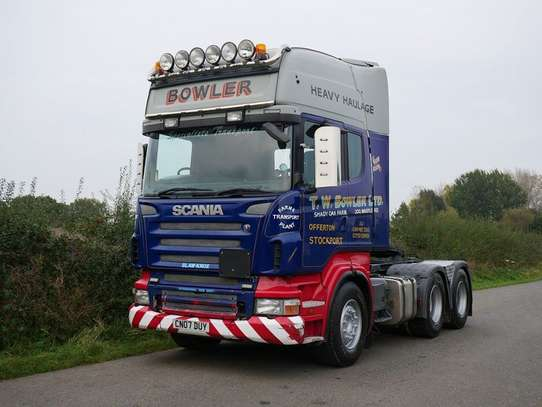 2007 Scania R480 Tractor Unit image 3