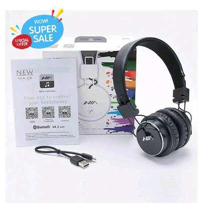 NIA X-2 WIRELESS BLUETOOTH HEADPHONES