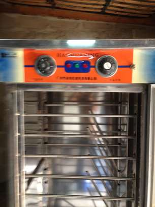 Commercial Steel Stainless 16 Trays Luxury Bread Dough Proofer image 3