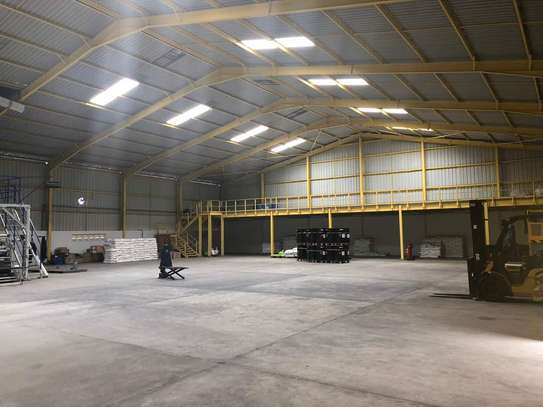 9acres Industrial Plot with a Brand new Warehouse in Mlandizi image 2