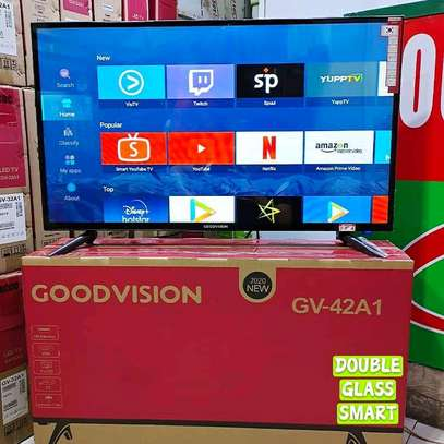 GOODVISION SMART TV 42 INCHES DOUBLE GLASS image 1