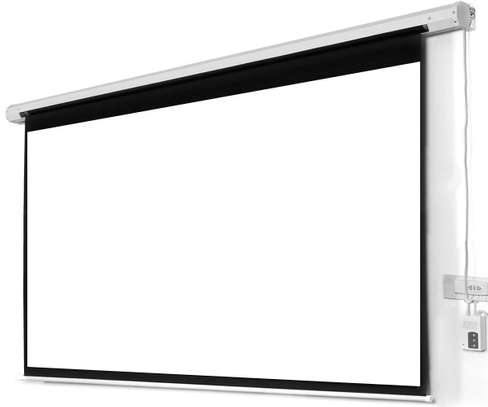 Electric Projection Screen image 1