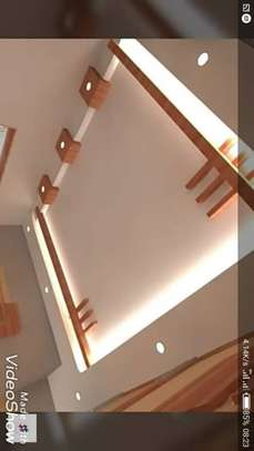 Ceiling material and construction