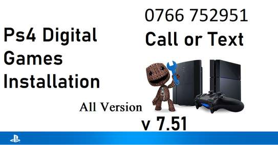 Ps4 and Ps3 Game installation