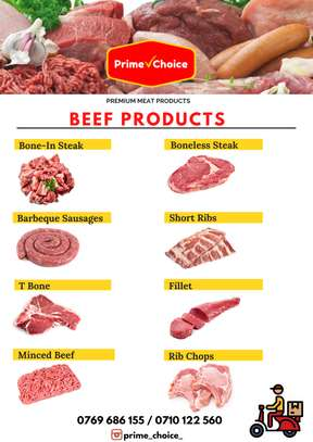 Beef Products for Sale