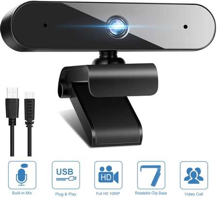 1080P Webcam with Microphone HD Web Camera for Computer Desktop Laptop PC