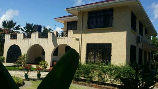 a standalone fully furnished house is for rent at mbezi beach road to whitesands image 1