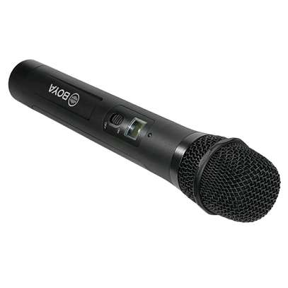 BOYA BY-WHM8 Pro Lavalier and Handheld Microphone UHF Wireless Unidirectional Dynamic Mic image 4