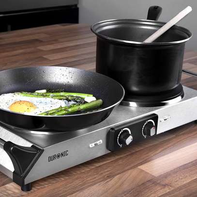SPRING DEAL: Duronic Hot Plate HP2SS   Table-Top Cooking   2500W   Stainless-Steel Electric Single Hob with Handles image 5