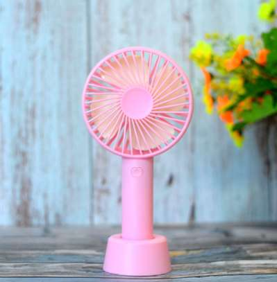 Portable Rechargeable Fan USB 1800mAh Fan For Outgoing Home Travel Handheld Desktop USB Cooling Fan For Hot Summer image 1