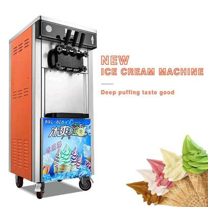 Commercial Soft Ice Cream Machine 3 Flavors...2,550,000/=