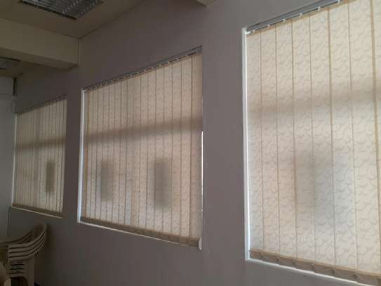 CURTAIN BLINDS- Cream Colour Vertical blinds image 1