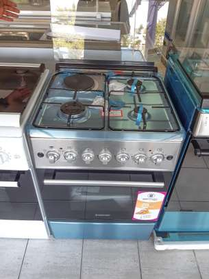 WESTPOINT Gas/Electric Cooker Inox image 1