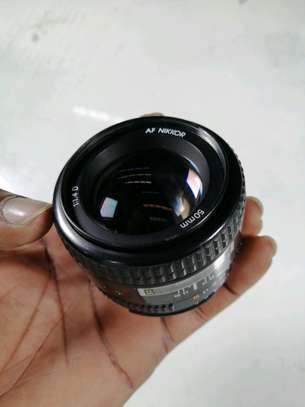 Nikon AF FX NIKKOR 50mm F/1.4D DSLR Lens with Auto Focus