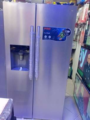 NEW VON HOTPOINT Side By Side Refrigerator - 560 Litres